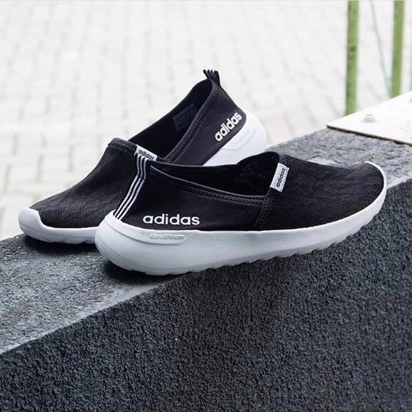 le adidas cloudfoam lite racer nero poshmark scarpe 75